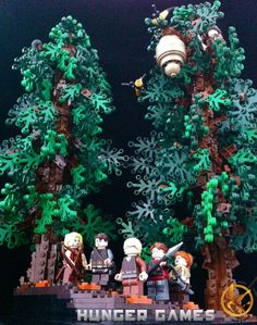 The Hunger Games and Five Other Works Of Literature Worthy of a LEGO Video Game