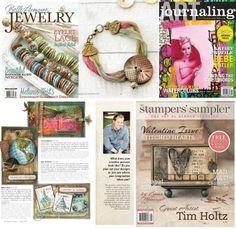Nouveaux magazines Stampington La Boit'A Scrap : La caverne aux merveilles pour les passionnés de Scrapbooking