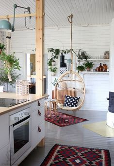 You can bravely mix clean and modern lines together with rustic style and as result you will get amazing rustic farmhouse kitchen that will be practical but also have all these authentic decor elements. Apartment Kitchen, Living Room Kitchen, Kitchen Decor, Kitchen Ideas, Kitchen Layouts, Kitchen Interior, Apartment Ideas, Diy Home Decor Rustic, Cheap Home Decor