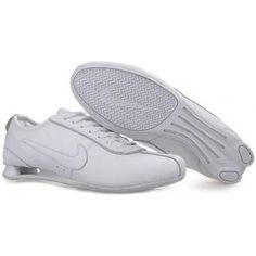 low priced 37491 14afc Nike Shox Women Shoes - white is durability and traction, as it has  breathable mesh for comfort and ventilation Molded sockliner provides great  fit ...