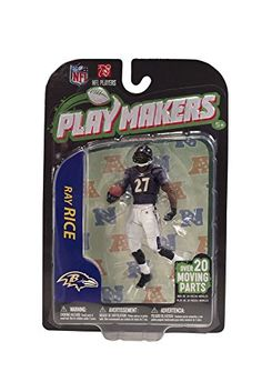 McFarlane NFL Playmakers Series 3 RAY RICE Action Figure BALTIMORE RAVENS * To view further for this item, visit the image link.