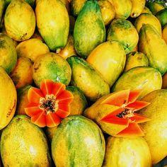 Very high on my list of favorites. Fresh papaya.  # gettinghealthier #freshfruit #nutrition #papaya #bioflavinoids  #cancerfree