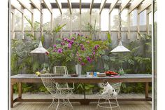 Do you HAVE? a serene outdoor dining room