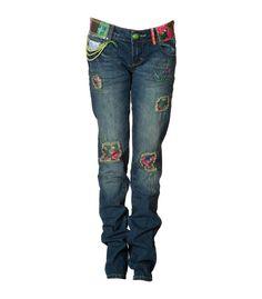 Desigual jeans, zojuist besteld...hopelijk past hij!
