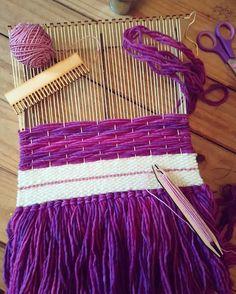 Tapestry Weaving, Loom, Needlework, Outdoor Blanket, Sissi, Stitch, Sewing, Wall Hangings, Creative