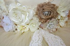 Lace Flower Girl Tutu Dress Baby Toddler by TootieFruityTutuShop