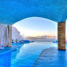 Astarte Suites Hotel, Santorini, Greece.  A private paradise   #regram @we.love.hotels