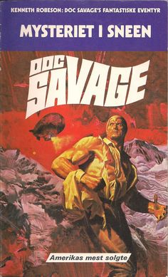 1970s 70s text typography novel book cover doc savage