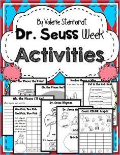 Dr. Seuss Day Activities
