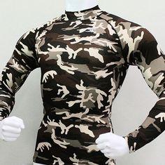 b287e2ff0e 062 Take Five Pro Compression Base Layer White Long Sleeve Shirt 래시가드, 반바지