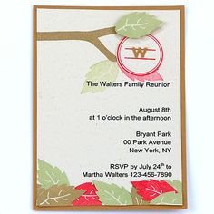 Rustic Sunflower  Wood Family Reunion Invitation  Family Reunion