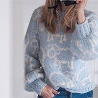 Sheep Happens! / DROPS 194-2 - Gratis strikkeoppskrifter fra DROPS Design Lace Patterns, Knitting Patterns Free, Free Knitting, Baby Knitting, Free Pattern, Crochet Patterns, Crochet Diagram, Free Crochet, Knit Crochet