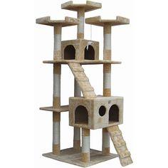 Go Pet Club Cat Tree Furniture - Overstock™ Shopping - The Best Prices on Go Pet Club Cat Furniture