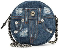 Moschino Denim Shoulder Bag