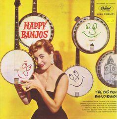 Happy Banjos-Capitol record album