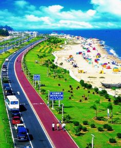 Xiamen, Fujian, China - I can't wait to walk on these beaches!