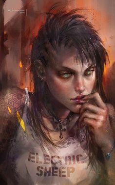 Daydream, Livia Prima on ArtStation at https://www.artstation.com/artwork/WlN9y