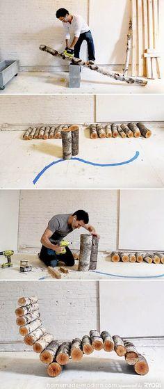 Craft Project Ideas: 11 Super Cool DIY Backyard Furniture Projects #furnitureideas