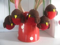 Christmas Crafts on Pinterest Crochet Christmas Trees, Ornaments and Snowfl...