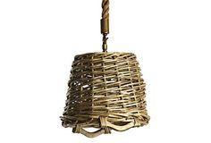 French Market Round Basket Pendant on OneKingsLane.com