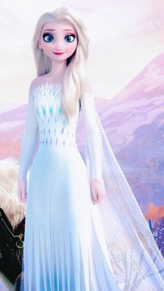 Elsa with open hair and beautiful dress Disney Princess Fashion, Disney Princess Pictures, Disney Princess Drawings, Disney Princess Art, Images Of Princess, Princesa Disney Frozen, Disney Frozen Elsa, Frozen Movie, Frozen Wallpaper
