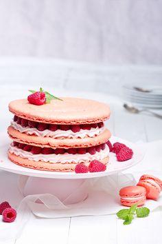 Urodzinowy tort malinowy, fot. Michał Radwański