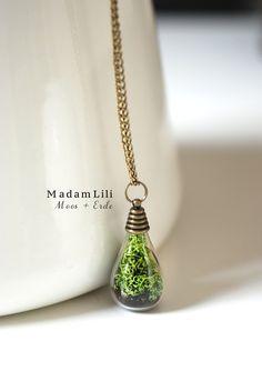 Voorjaar- een stukje natuur Ketting van MadamLili® ♥ Nostalgische sieraden voor romantici ♥ op DaWanda.com