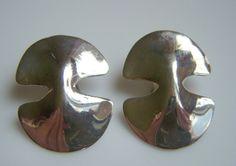 Vintage 1980s Robert Lee Morris Silver Modernist by junquegrl, $95.00