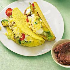 Gouda, Avocado, Tacos, Creme, Veggies, Mexican, Ethnic Recipes, Fiesta Party, Vegetarian Meals