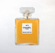 Chanel No 5 - Original acrylic on canvas painting - Cocostyle Studio
