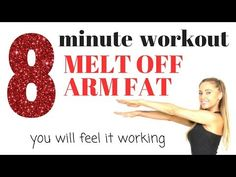 Burn Off Arm Fat And Tone Your Arms (this exercise video has the best arm exercise moves for women) and you don't need any weights. LOSE THE ARM 💪🏽 FAT 📕 BOO. Lose Arm Fat, Lose Belly Fat, Lose Weight, Weight Loss, Reduce Weight, Arm Workouts At Home, Fun Workouts, Body Workouts, Bingo Wings