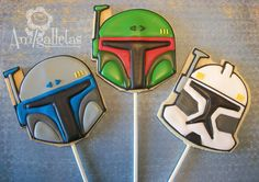 star wars cookies - check out the site for more