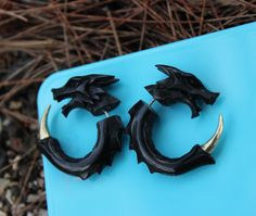 These fierce AF earrings.   23 Pieces Of Jewellery That Will Unleash Your Inner Khaleesi