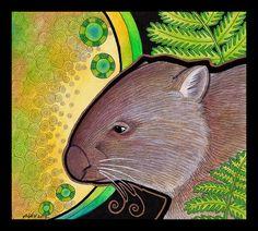 Common Wombat - subsp tasmaniensis - as Totem by Ravenari on deviantART