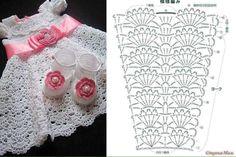 vestidos bebe niña crochet (6)