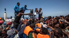 The wretched of the sea: An Algerian perspective Help Refugees, Syrian Refugees, Landing Craft, Global Business, Shipwreck, Mediterranean Sea, Young People, The Guardian, Sicily