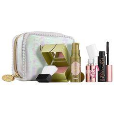 I Pink I Love You! Makeup Kit - Benefit Cosmetics | Sephora Eye Makeup Glitter, Eye Makeup Tips, Makeup Videos, Beauty Makeup, Makeup Tricks, Make Up Kits, Step By Step Eyeliner, Mascara, Shopping