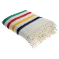 Woolrich: Hudson's Bay Capote Throw Multi // Fab: http://fab.com/sjfwxc
