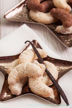 Weihnachtsplätzchen klassische Vanillekipferl