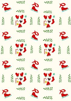 Free digital holiday scrapbooking paper - ausdruckbares Weihnachtspapier - freebie | MeinLilaPark – DIY printables and downloads