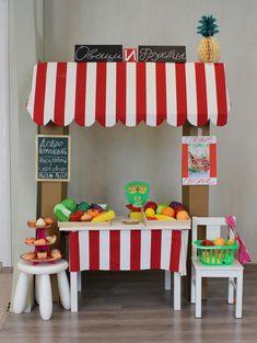 Магазин для ролевых игр из картона СВОИМИ РУКАМИ! - Игры с детьми - Babyblog.ru