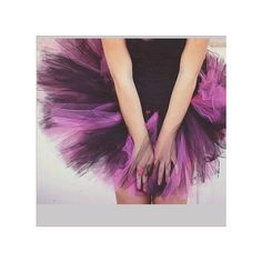 Purple Color Sexy Party Tutu Skirt (14.430 CLP) ❤ liked on Polyvore featuring skirts, purple tutu, sexy tutu, party skirts, sexy skirt and purple skirt