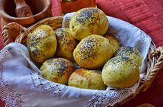 Panecillos de curry y semillas de amapola