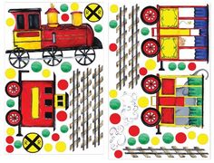 RoomMates RMK1391SLG All Aboard Peel  Stick Wall Decal MegaPack *** More info could be found at the image url. (This is an affiliate link and I receive a commission for the sales)