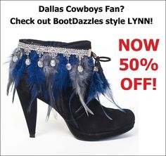 Dallas Cowboys Fan?  Check out our style Lynn - NOW 50% OFF!