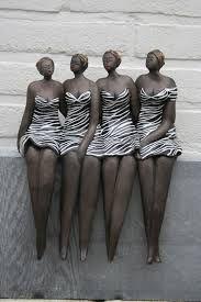Bildergebnis für bernadette te wierik Sculptures Céramiques, Sculpture Art, Modern Sculpture, Ceramic Fish, Ceramic Art, African American Figurines, Ceramic Sculpture Figurative, Drawing People Faces, Plus Size Art