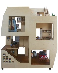 Spiral Dollhouse - Architecture BRIO, Mumbai / India