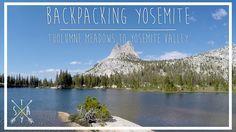 Backpacking Yosemite: JMT - Tuolumne to Yosemite Valley Yosemite National Park, National Parks, Tuolumne Meadows, John Muir Trail, Yosemite Valley, Wilderness, Backpacking, Beach, Water