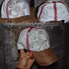 Follow us on Instagram & shop our website! http://www.frogstones.boutique/products/baseball-cap-with-rhinestones?utm_campaign=social_autopilot&utm_source=pin&utm_medium=pin