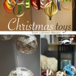 Nine Ideas for Christmas Toys from Colored Ribbons